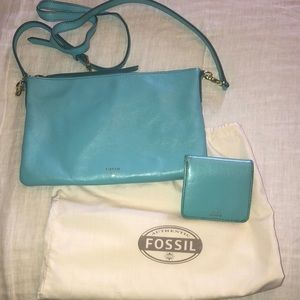 Fossil Sydney Crossbody & wallet